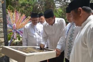 Walikota Pekanbaru DR.H.Firdaus ST.MT Memberikan Sambutan Pada Acara Khatam Al-Qur'an.